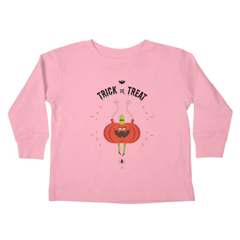des bonbons ou un sort Kids Toddler Longsleeve T-Shirt by lepetitcalamar's Artist Shop
