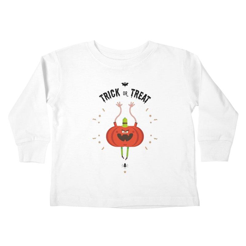 des bonbons ou un sort Kids Toddler Longsleeve T-Shirt by lepetitcalamar's Artist Shop