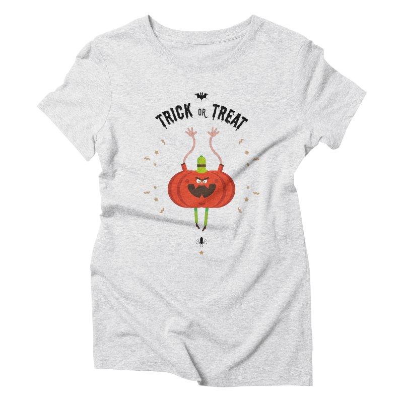 des bonbons ou un sort Women's Triblend T-Shirt by lepetitcalamar's Artist Shop
