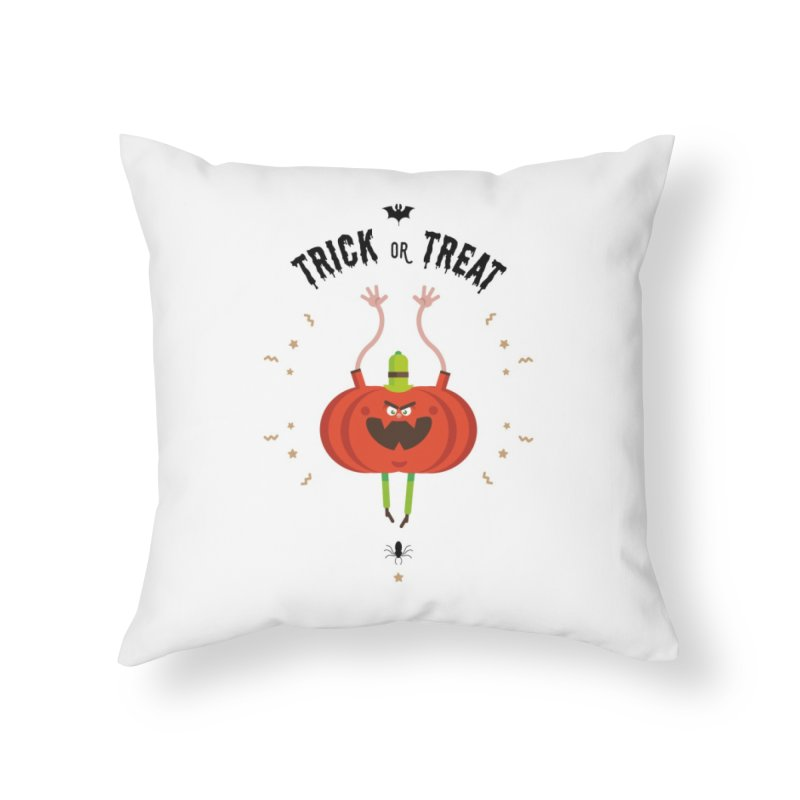 des bonbons ou un sort Home Throw Pillow by lepetitcalamar's Artist Shop