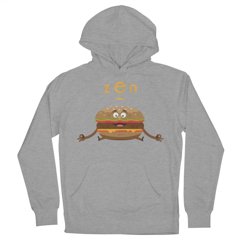ZEN hamburger Men's Pullover Hoody by lepetitcalamar's Artist Shop