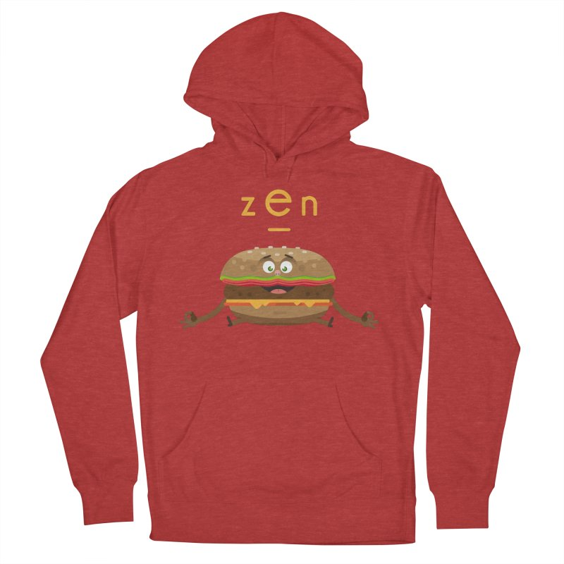 ZEN hamburger Men's Pullover Hoody by lepetitcalamar's Artist Shop