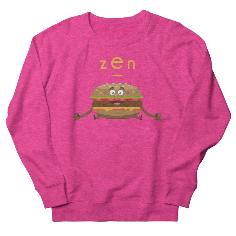 ZEN hamburger Women's Sweatshirt by lepetitcalamar's Artist Shop