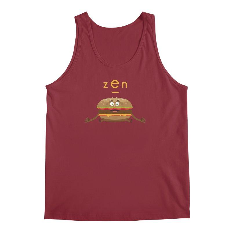 ZEN hamburger Men's Tank by lepetitcalamar's Artist Shop