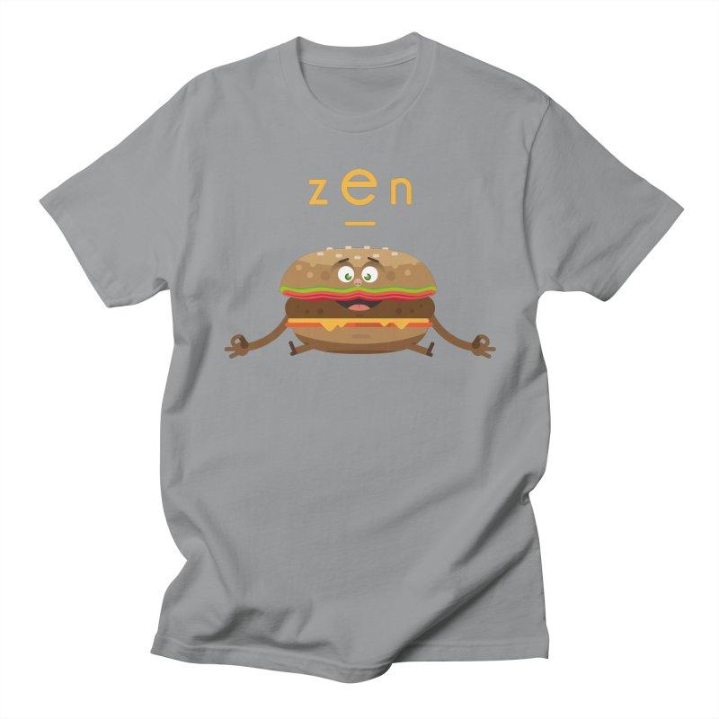 ZEN hamburger Women's Regular Unisex T-Shirt by lepetitcalamar's Artist Shop