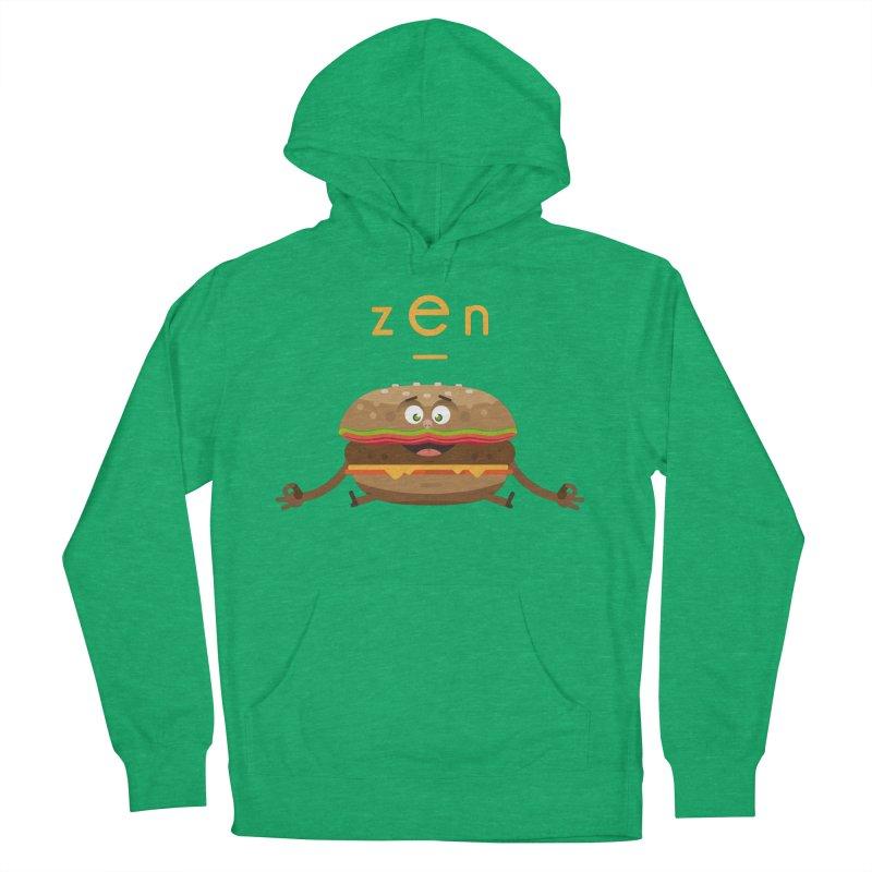 ZEN hamburger Women's Pullover Hoody by lepetitcalamar's Artist Shop