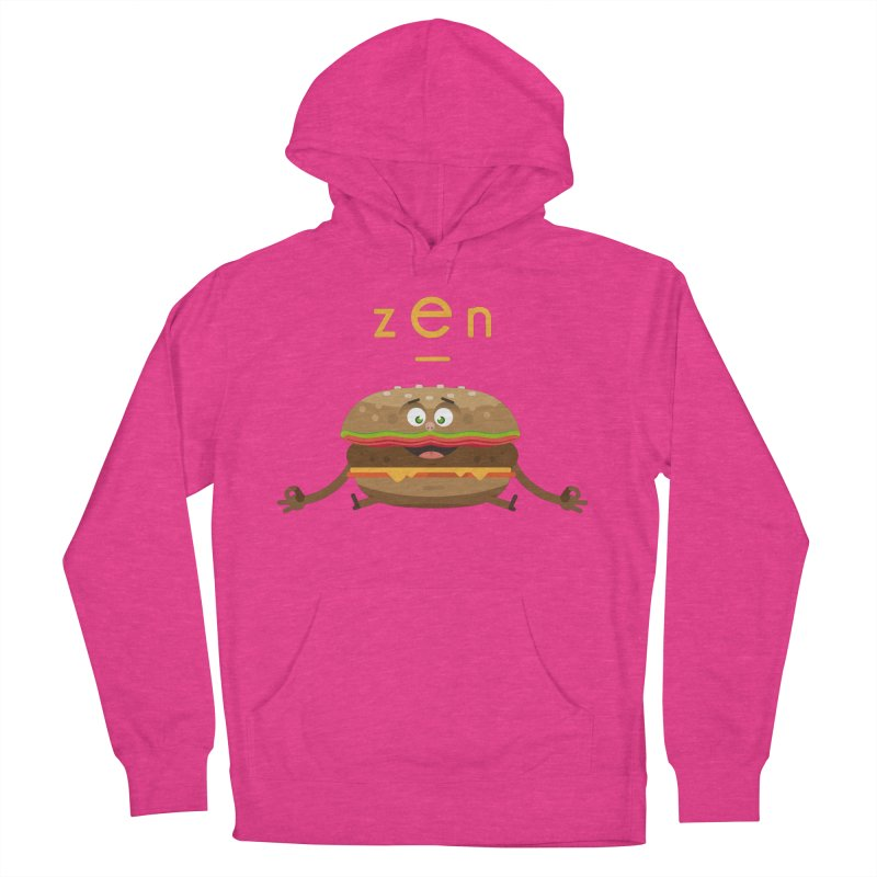 ZEN hamburger Men's French Terry Pullover Hoody by lepetitcalamar's Artist Shop