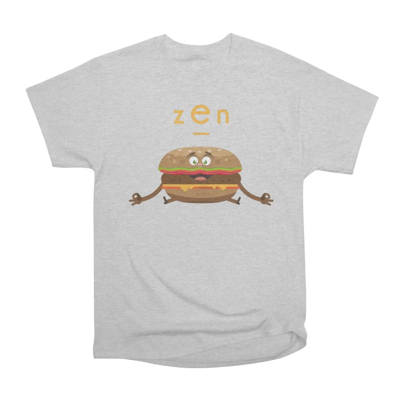 ZEN hamburger Women's Heavyweight Unisex T-Shirt by lepetitcalamar's Artist Shop