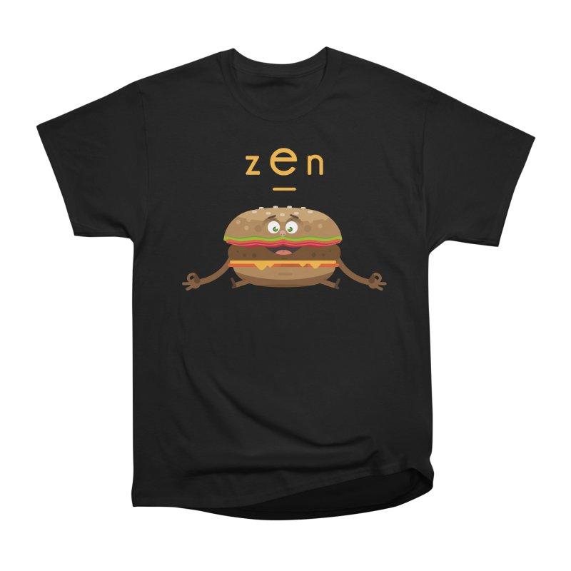 ZEN hamburger Men's Heavyweight T-Shirt by lepetitcalamar's Artist Shop