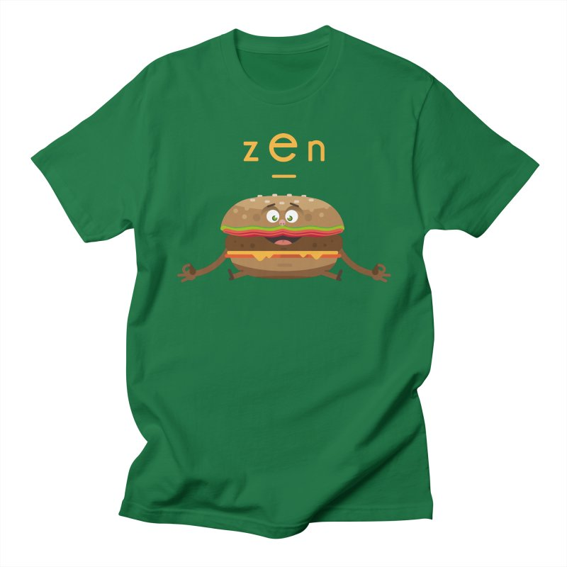ZEN hamburger Men's Regular T-Shirt by lepetitcalamar's Artist Shop