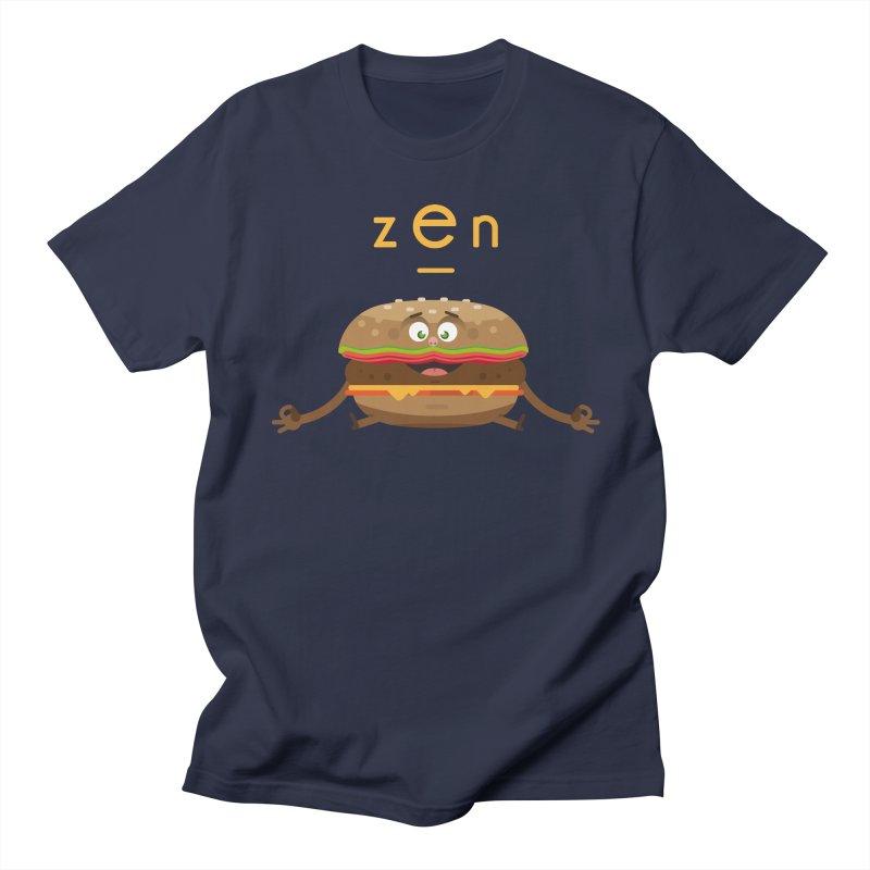 ZEN hamburger Women's Unisex T-Shirt by lepetitcalamar's Artist Shop