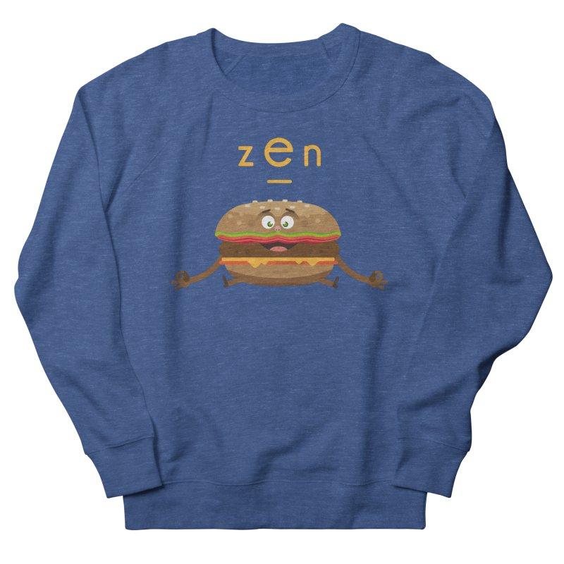 ZEN hamburger Women's French Terry Sweatshirt by lepetitcalamar's Artist Shop