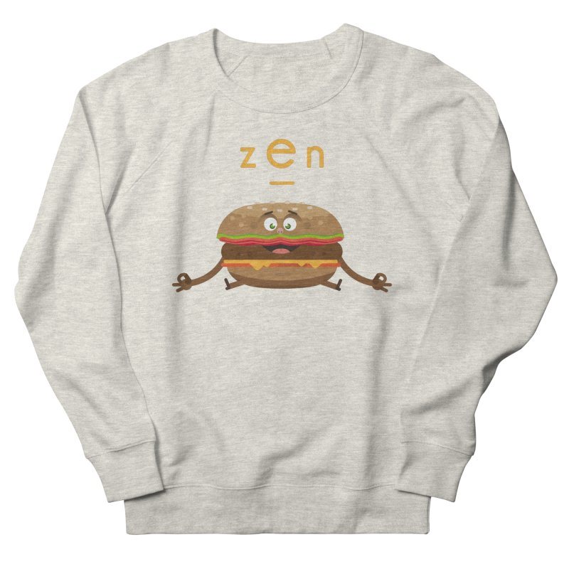 ZEN hamburger Women's French Terry Sweatshirt by lepetitcalamar's Artist Shop