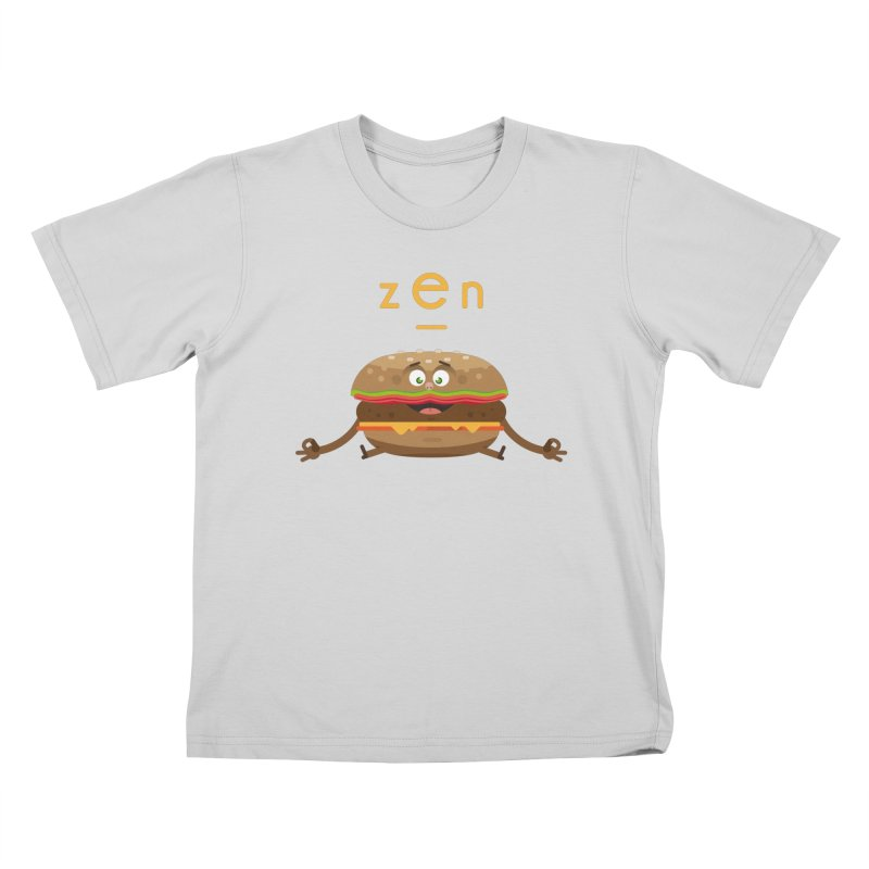 ZEN hamburger Kids T-Shirt by lepetitcalamar's Artist Shop
