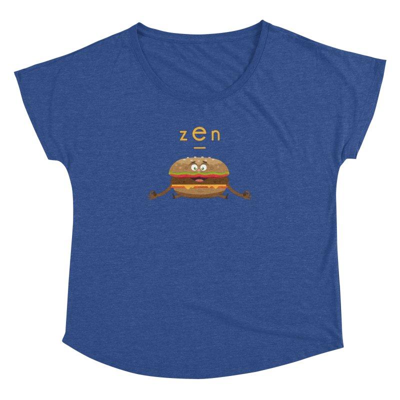 ZEN hamburger Women's Dolman by lepetitcalamar's Artist Shop