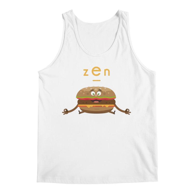 ZEN hamburger Men's Regular Tank by lepetitcalamar's Artist Shop