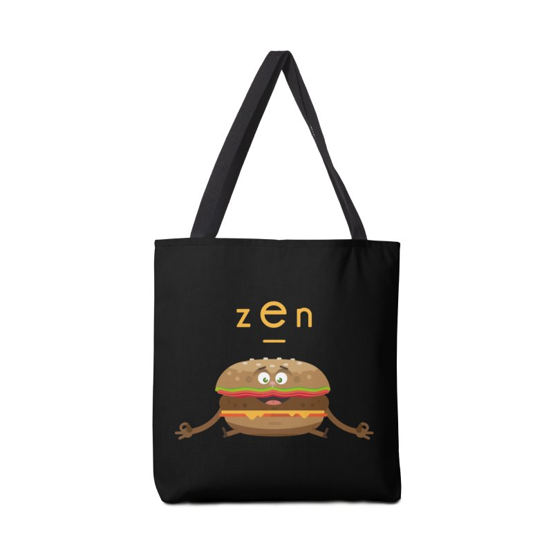 ZEN hamburger Accessories Bag by lepetitcalamar's Artist Shop