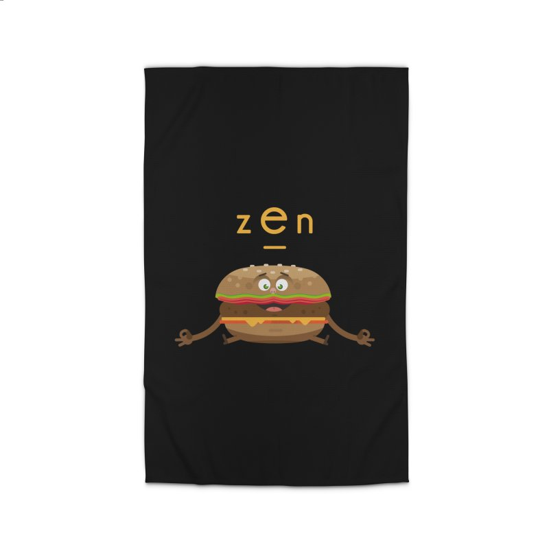 ZEN hamburger Home Rug by lepetitcalamar's Artist Shop