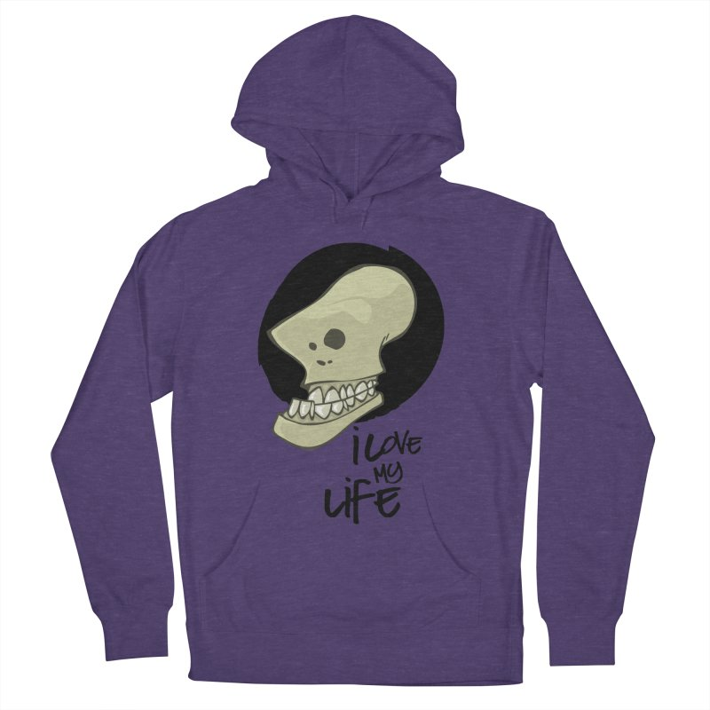I love my life Men's Pullover Hoody by lepetitcalamar's Artist Shop