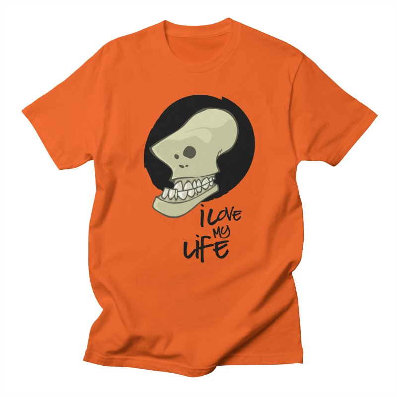 I love my life Men's T-shirt by lepetitcalamar's Artist Shop