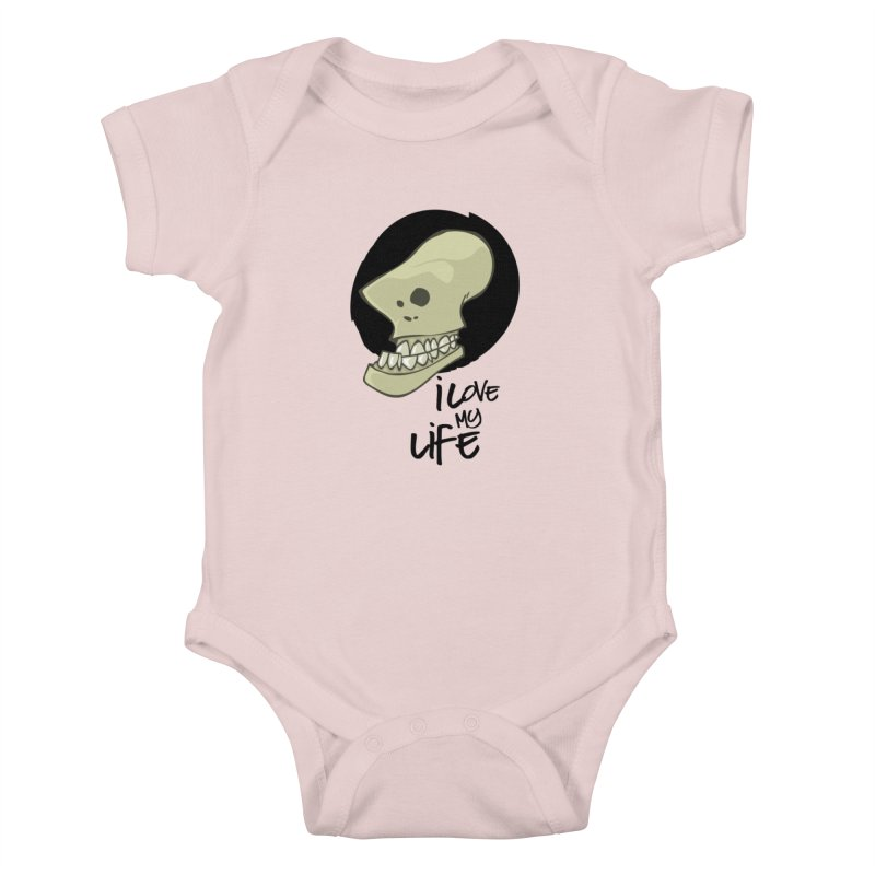 I love my life Kids Baby Bodysuit by lepetitcalamar's Artist Shop