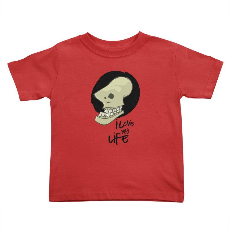 I love my life Kids Toddler T-Shirt by lepetitcalamar's Artist Shop