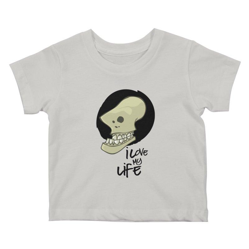 I love my life Kids Baby T-Shirt by lepetitcalamar's Artist Shop