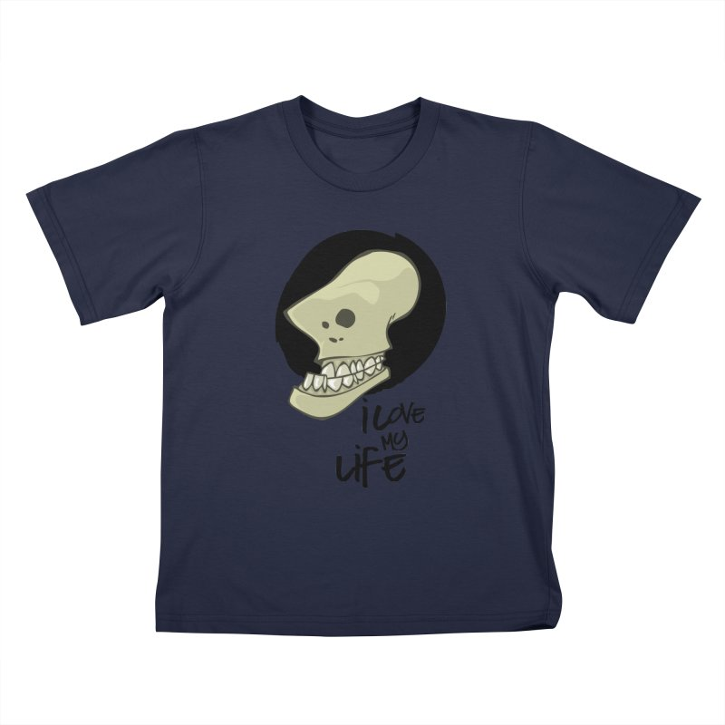 I love my life Kids T-Shirt by lepetitcalamar's Artist Shop