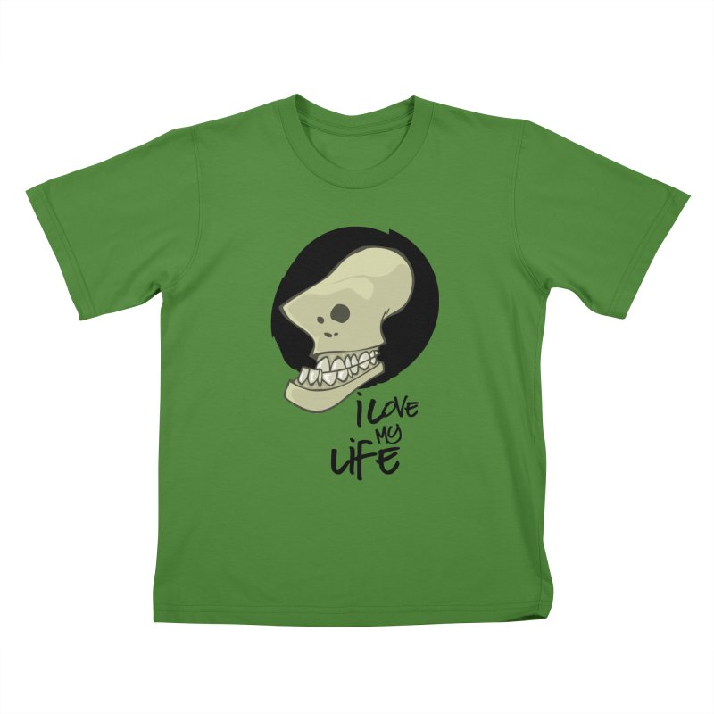 I love my life Kids T-Shirt by lepetitcalamar's Artist Shop