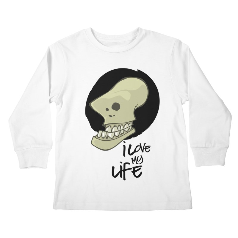 I love my life Kids Longsleeve T-Shirt by lepetitcalamar's Artist Shop