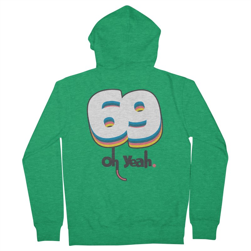 69 oh oui Men's Zip-Up Hoody by lepetitcalamar's Artist Shop