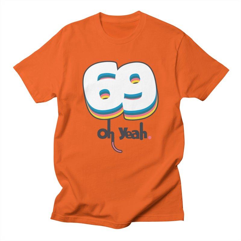 69 oh oui Men's Regular T-Shirt by lepetitcalamar's Artist Shop