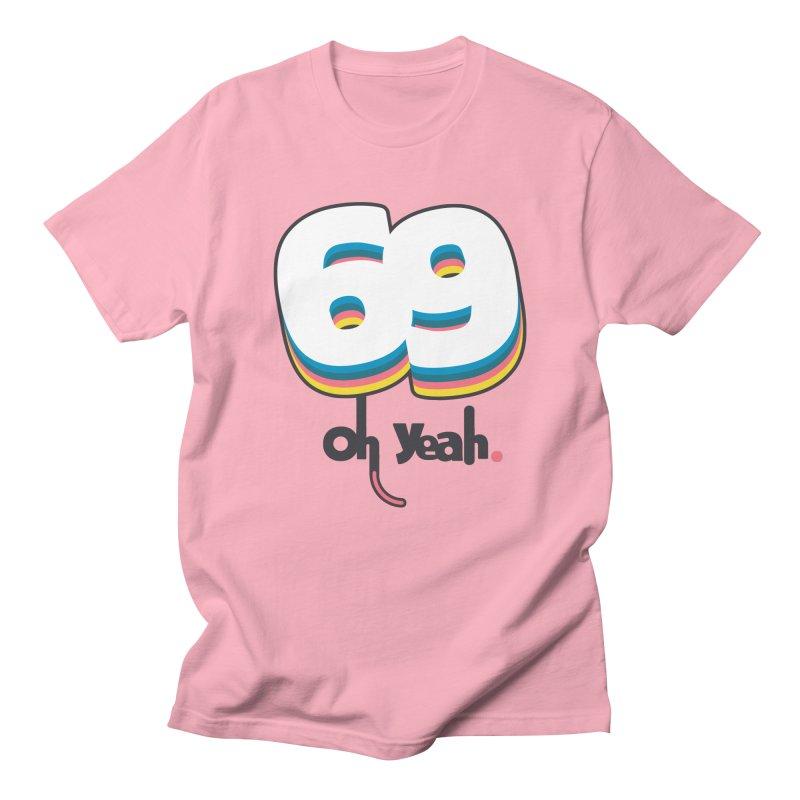 69 oh oui Men's T-Shirt by lepetitcalamar's Artist Shop