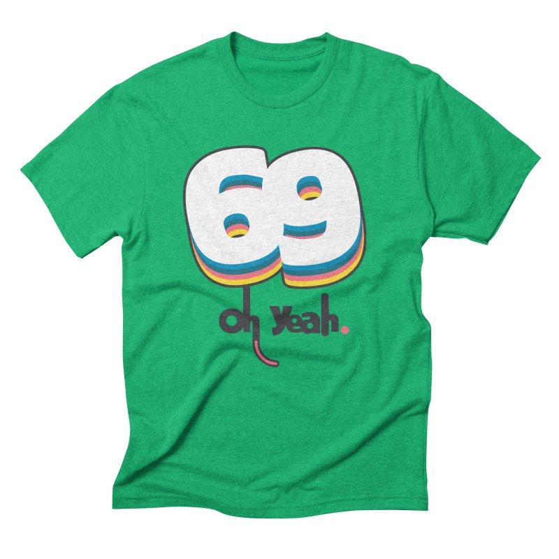 69 oh oui Men's Triblend T-Shirt by lepetitcalamar's Artist Shop