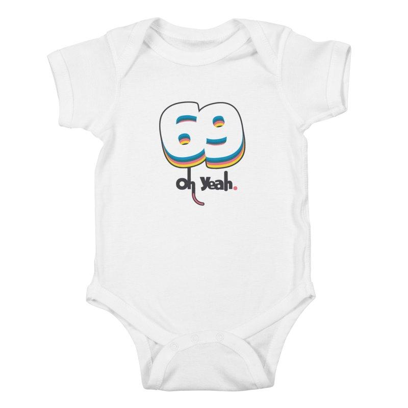 69 oh oui Kids Baby Bodysuit by lepetitcalamar's Artist Shop