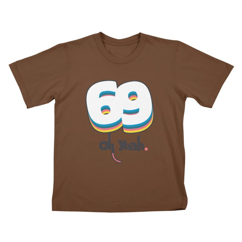 69 oh oui Kids T-Shirt by lepetitcalamar's Artist Shop