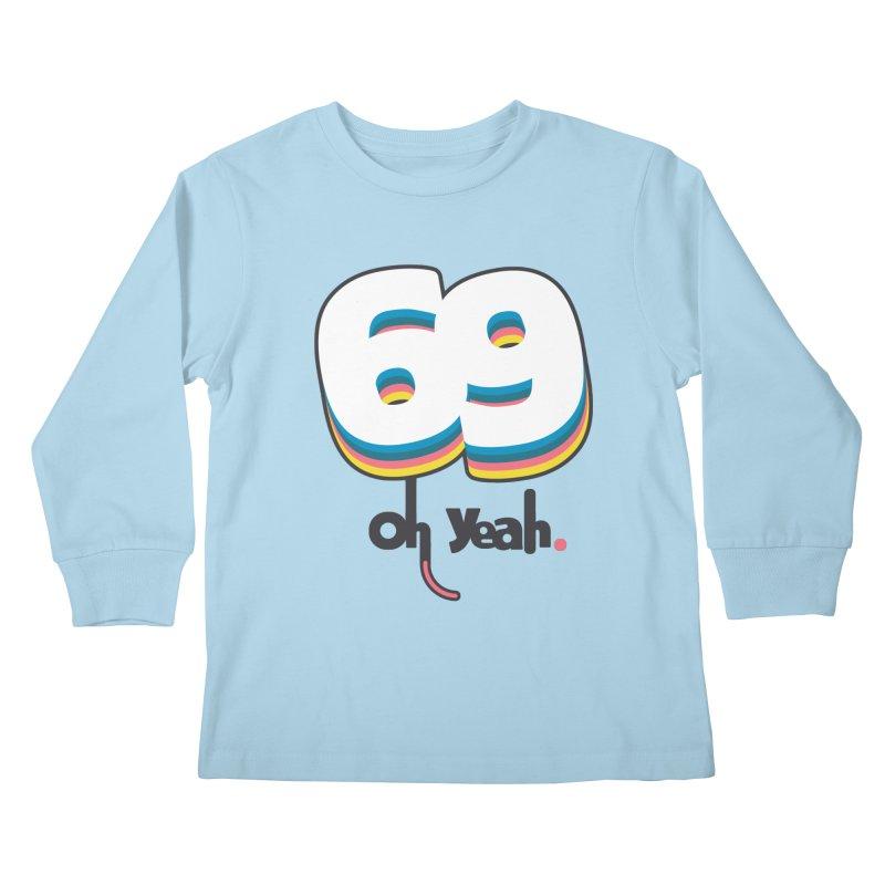 69 oh oui Kids Longsleeve T-Shirt by lepetitcalamar's Artist Shop