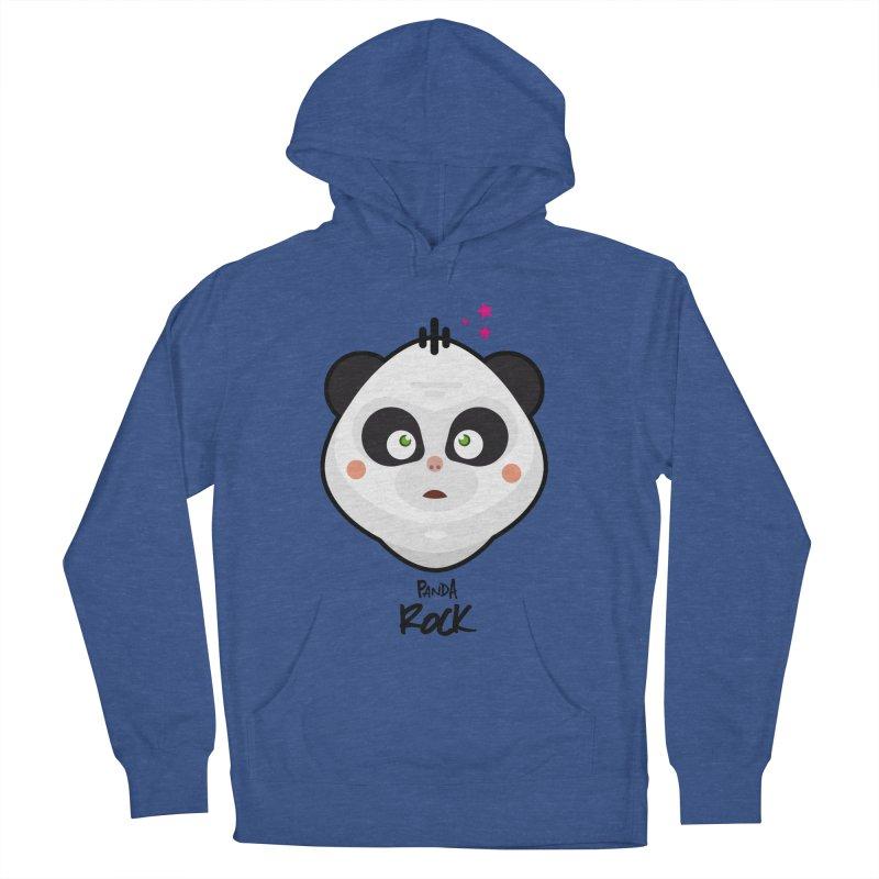 Panda roche Men's Pullover Hoody by lepetitcalamar's Artist Shop