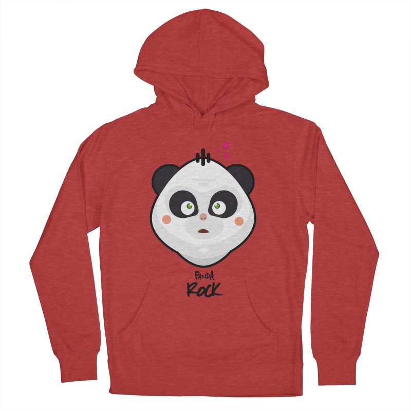 Panda roche Men's Pullover Hoody by lepetitcalamar's Artist Shop