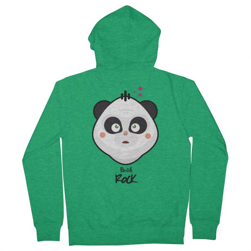 Panda roche Women's Zip-Up Hoody by lepetitcalamar's Artist Shop