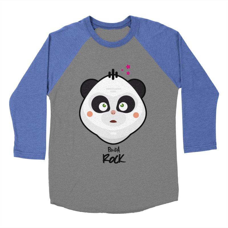 Panda roche Women's Baseball Triblend Longsleeve T-Shirt by lepetitcalamar's Artist Shop