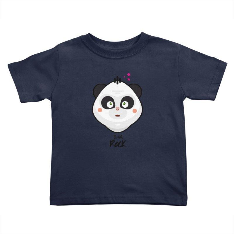 Panda roche Kids Toddler T-Shirt by lepetitcalamar's Artist Shop