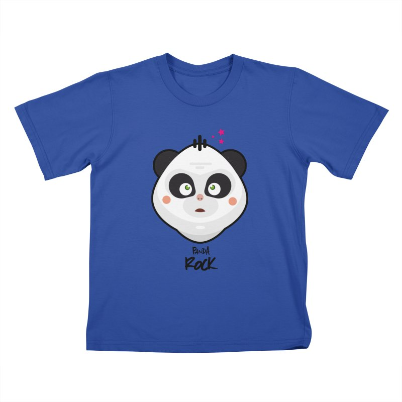 Panda roche Kids T-shirt by lepetitcalamar's Artist Shop