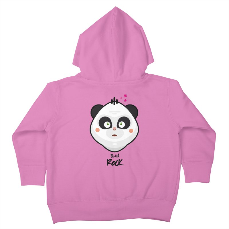 Panda roche Kids Toddler Zip-Up Hoody by lepetitcalamar's Artist Shop