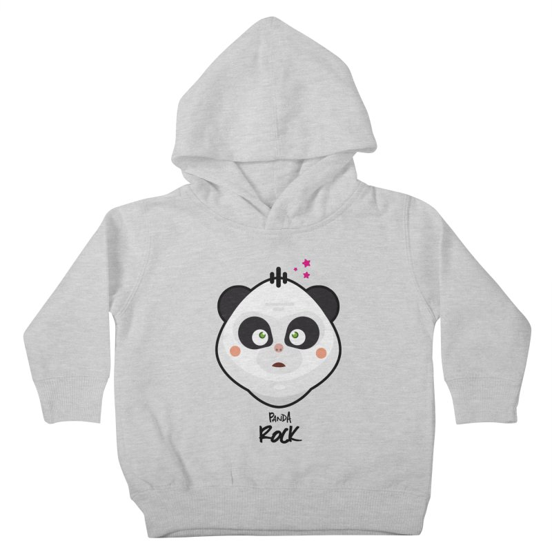 Panda roche Kids Toddler Pullover Hoody by lepetitcalamar's Artist Shop