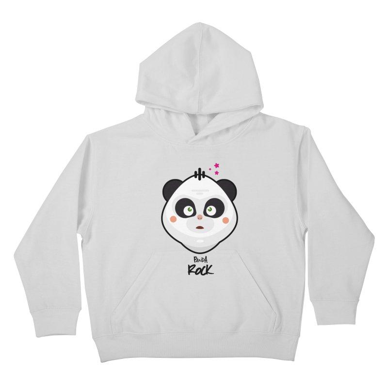 Panda roche Kids Pullover Hoody by lepetitcalamar's Artist Shop