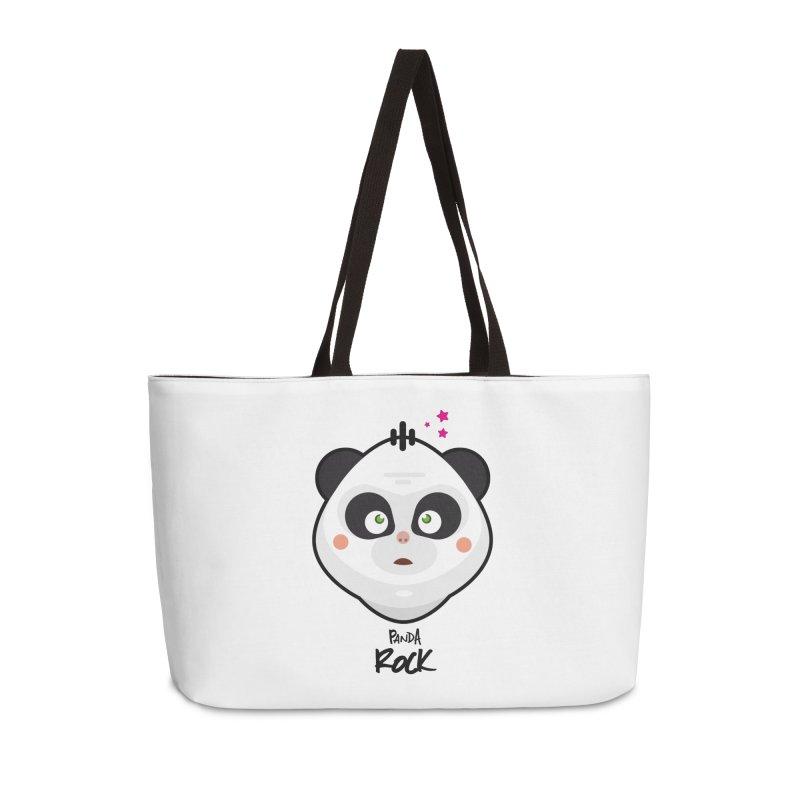 Panda roche Accessories Weekender Bag Bag by lepetitcalamar's Artist Shop