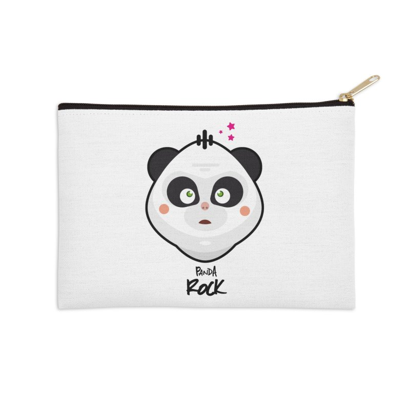 Panda roche Accessories Zip Pouch by lepetitcalamar's Artist Shop