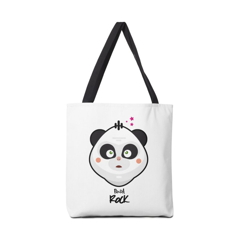 Panda roche Accessories Bag by lepetitcalamar's Artist Shop