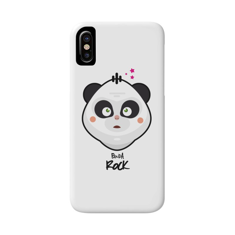 Panda roche Accessories Phone Case by lepetitcalamar's Artist Shop